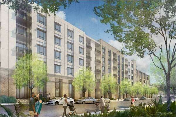 Mixed-use development with apartments proposed for storage facility