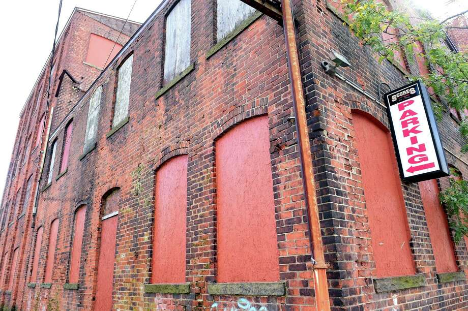 (Arnold Gold-New Haven Register) The site of an old clock factory on Hamilton St. in New Haven photographed on 10/24/2016.