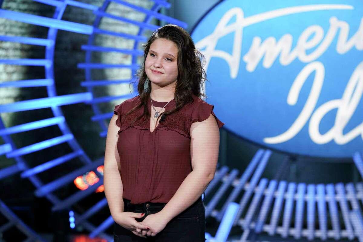 Madison VanDenburg, a Shaker High School student, appears on