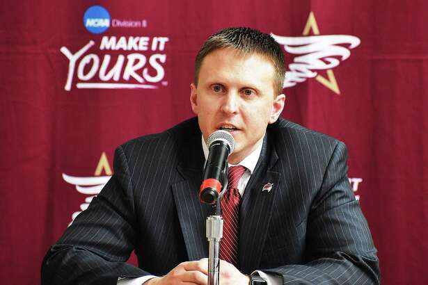 TAMIU introduced its sixth head coach in school history on Monday afternoon in Nate Vogel as he comes to the program after two seasons with Miles Community College.