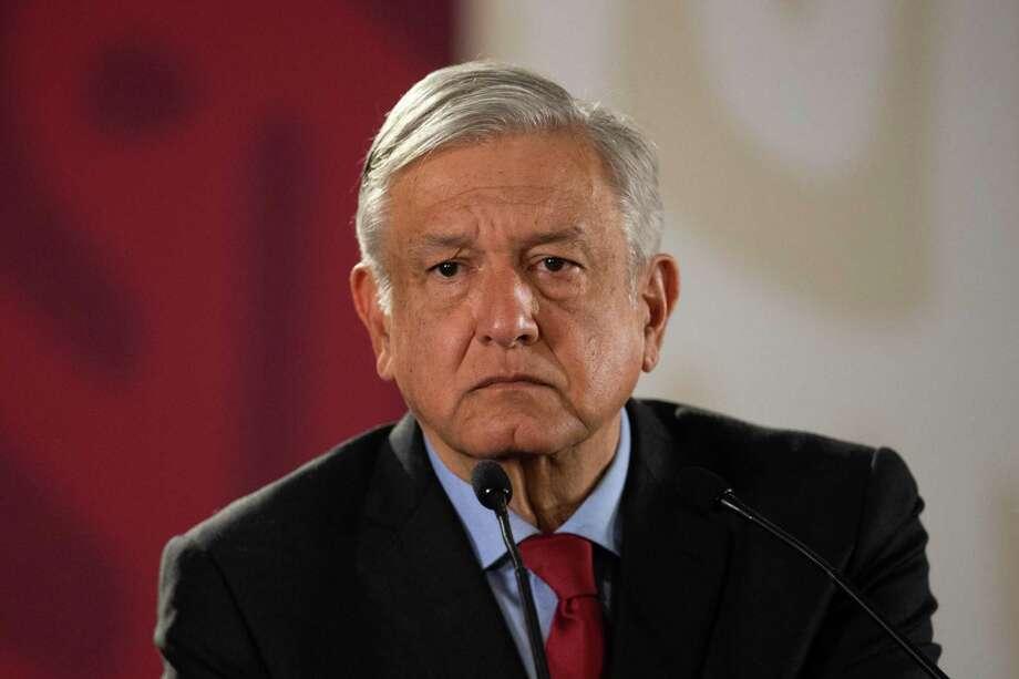 López Obrador Photo: PEDRO PARDO /AFP /Getty Images / AFP or licensors