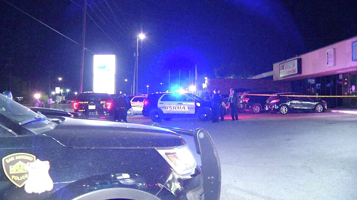 A man was shot in the stomach Monday at a bar on the near North Side, police said.