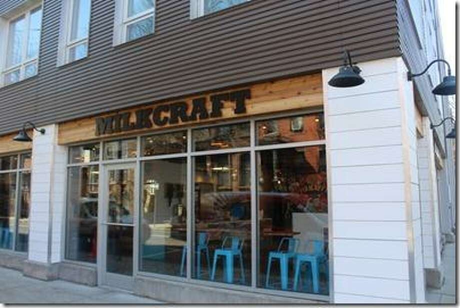 Milkcraft® Small Batch Creamery opened in New Haven. Photo: Contributed /