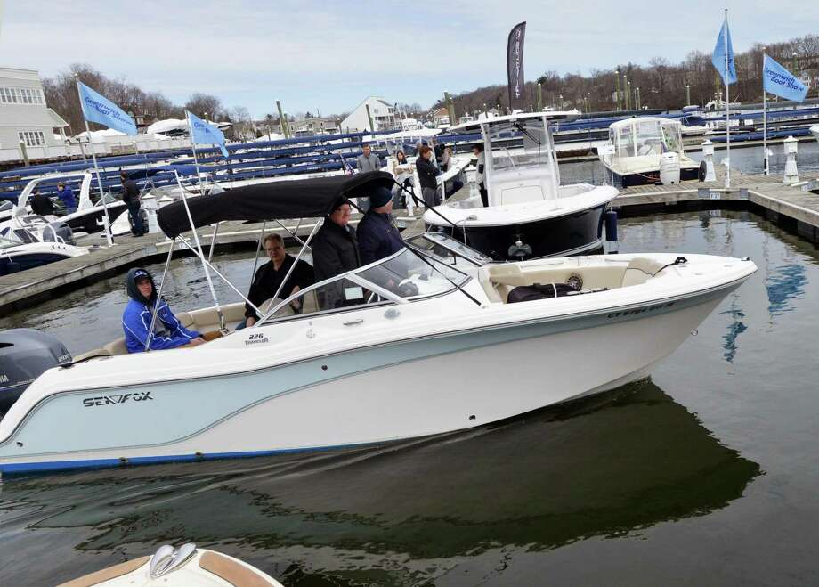 The annual Greenwich Boat Show will show off an array of boats and boating gear at the annual show on April 6 and April 7 at 49 River Road in Cos Cob. The free event will include sea-trials on Long Island Sound of boats and yachts. For more info, visit greenwichboatshow.com. Photo: File / Hearst Connecticut Media / Greenwich Time
