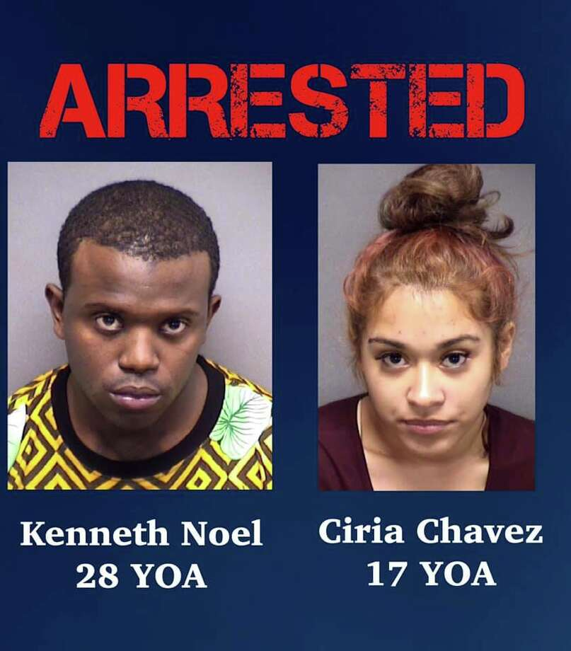 Kenneth Noel and Ciria Chavez are now faces charges of aggravated promotion of prostitution. They were booked into the Bexar County Jail on $75,000 bail. Photo: San Antonio Police Department