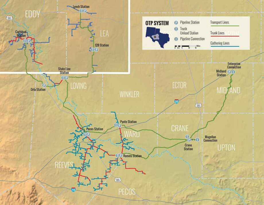 New York private equity firm Stonepeak Infrastructure Partners bought Permian Basin-focused pipeline operator Oryx Midstream in a $3.6 billion deal. Photo: Oryx Midstream LLC