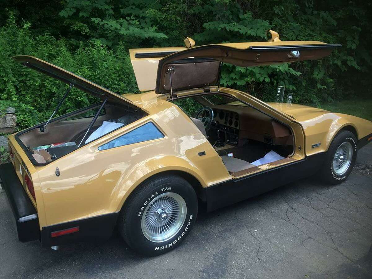 This 1974 Bricklin SV1 4 speed owned and restored by Rick Barone is believed to be one of only three in existence.