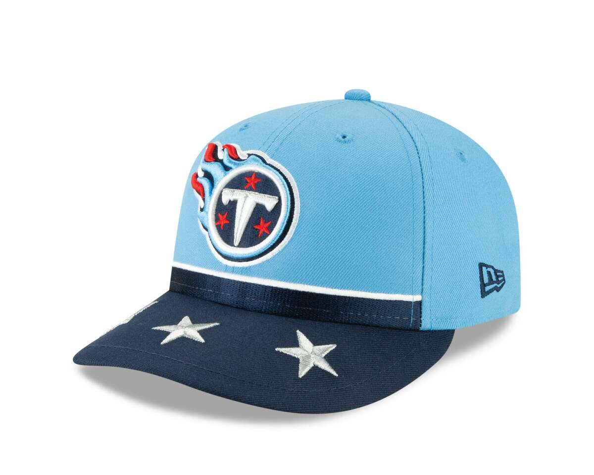 Tennessee Titans The New Era 2019 On-Stage NFL Draft Collection are the hats the players will be given by their teams at the 2019 NFL Draft.
