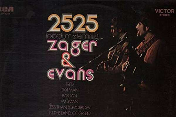 The cover of Zager and Evans 'In the Year 2525' album. (Courtesy RCA Records)