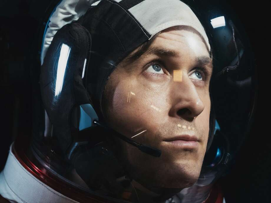 Ryan Gosling as Neil Armstrong in First Man. Photo: Associated Press