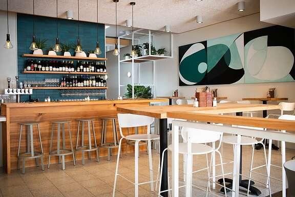 Studio BBA designed Little Gem's second restaurant in Cow Hollow.