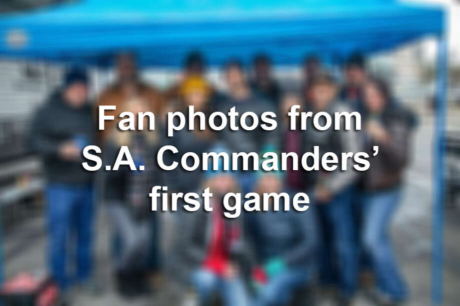 The San Antonio Commanders were greeted by 27,857 fans who witness a 15-6 victory over the San Diego Fleet on Saturday, Feb. 9, at the Alamodome. Photo: FILE