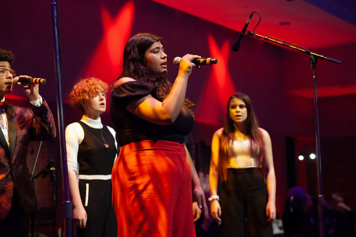 Youth ensemble OSA Vocal Rush at YBCA's 'This Is Not a Gala'