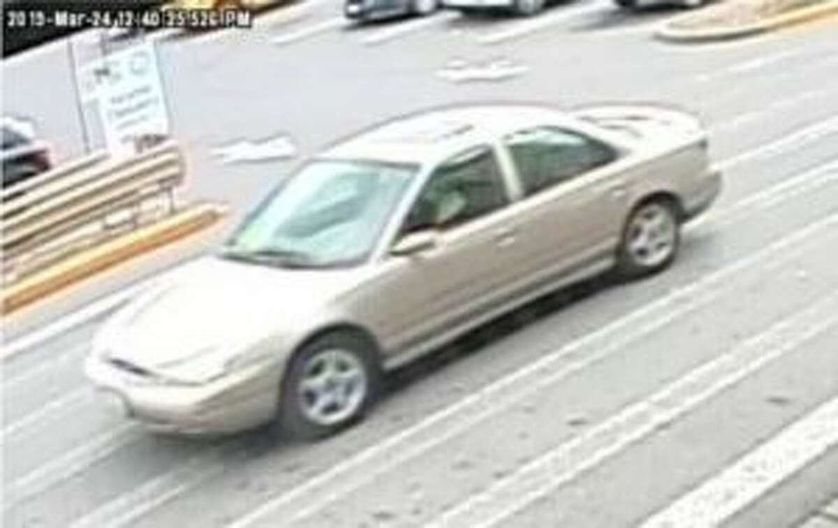 The Seattle Police Department released an image of gold 1998-2000 Ford Contour that they believe was the vehicle of a man who randomly assaulted a man on March 24 with a baseball bat.