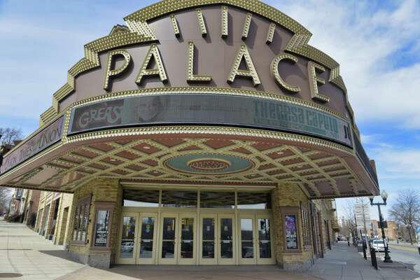 A view of the Palace Theatre on Tuesday, April 2, 2019, in Albany, N.Y. (Paul Buckowski/Times Union)