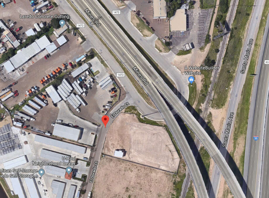 Laredo police said an accident reported near Mines Road and El Dorado Court on Tuesday afternoon left a 40-year-old motorcycle rider in critical condition. Photo: Google Maps