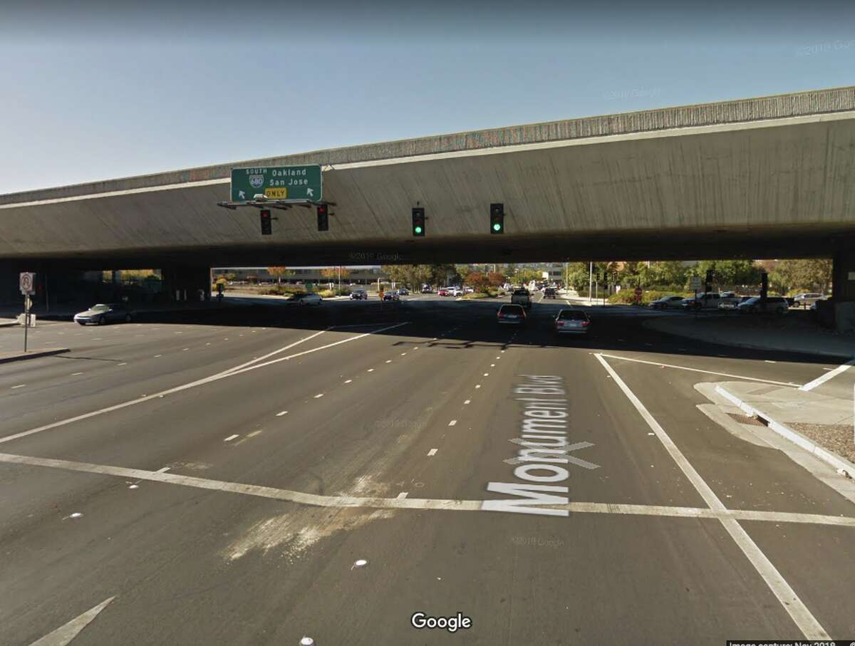 Interstate 680 over Monument Boulevard Contra Costa County Daily crossings: 235,000 Year built: 1998