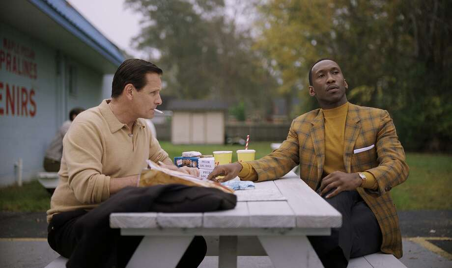 "Viggo Mortensen as Tony Vallelonga and Mahershala Ali as Dr. Donald Shirley in the film ""Green Book."" (Universal Pictures) Photo: Universal Pictures / TNS / TNS"