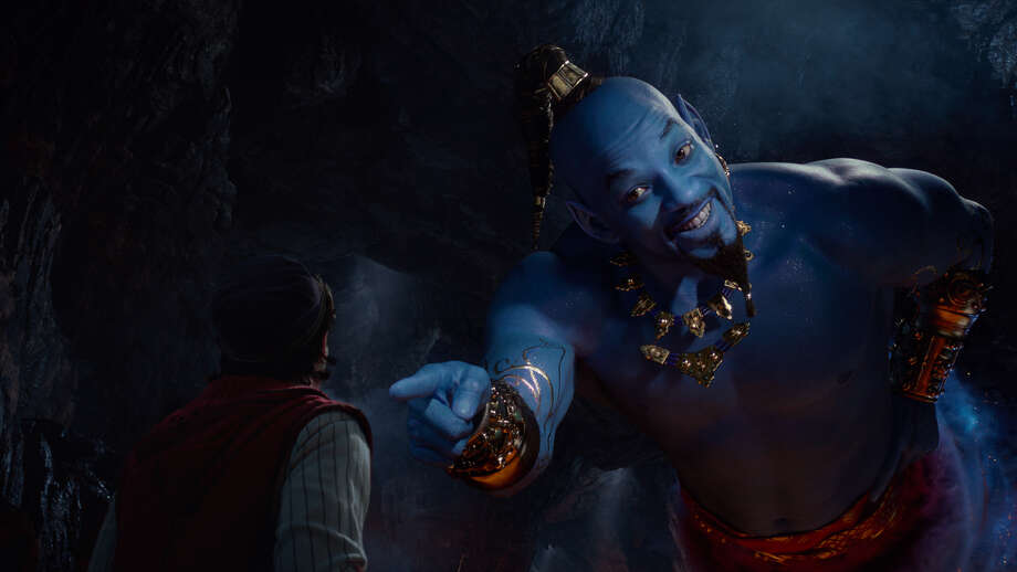 "Will Smith is ""Aladdin"" Photo: Disney / (c) 2019 Disney Enterprises Inc.  All Rights Reserved."