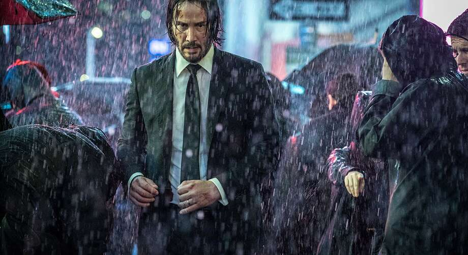 Keanu Reeves in 'John Wick: Chapter 3.' (Lionsgate)