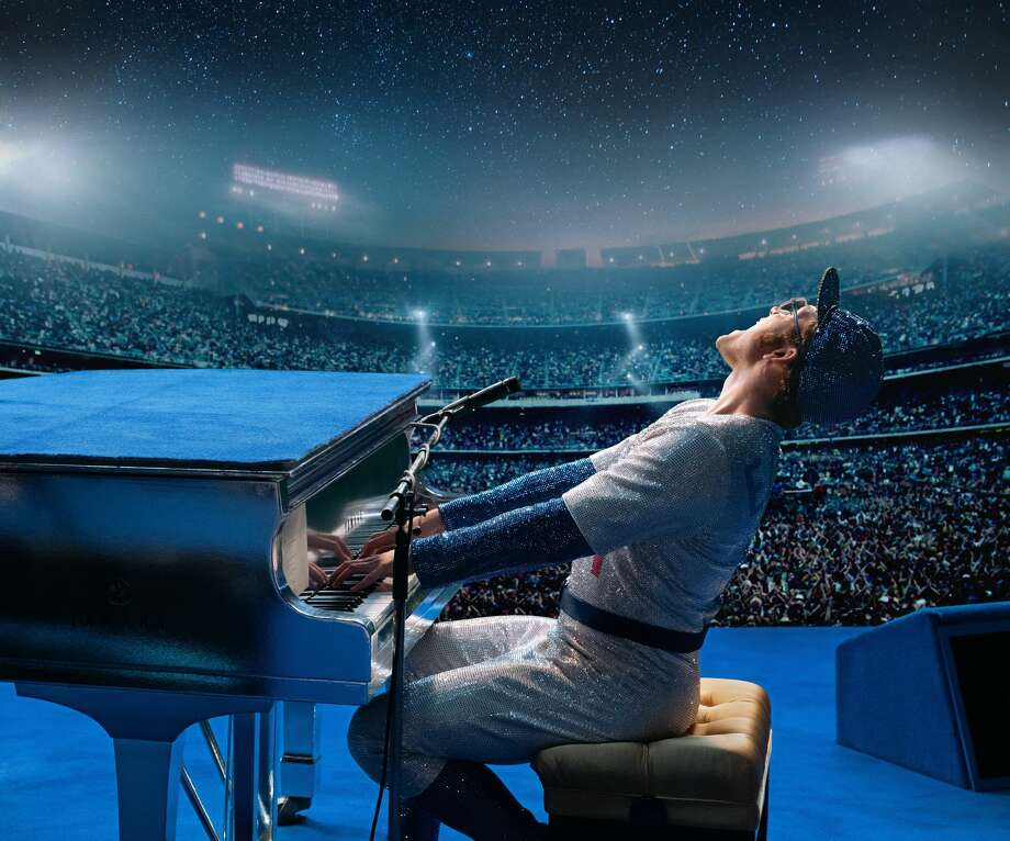 Taron Egerton as Elton John in 'Rocketman.' (David Appleby)