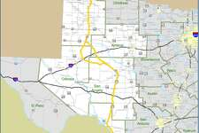 """Currently, Interstate 27 ends in Lubbock, but a """"Ports-to-Plains"""" corridor would extend the road approximately 500 miles to Laredo. It also would serve three border crossings -- Laredo, Eagle Pass and Del Rio -- and connect those cities with San Angelo, Midland, Lubbock and Amarillo, according to the resolution of support. A future Interstate 27 also would intersect with interstate highways 10, 20 and 40."""
