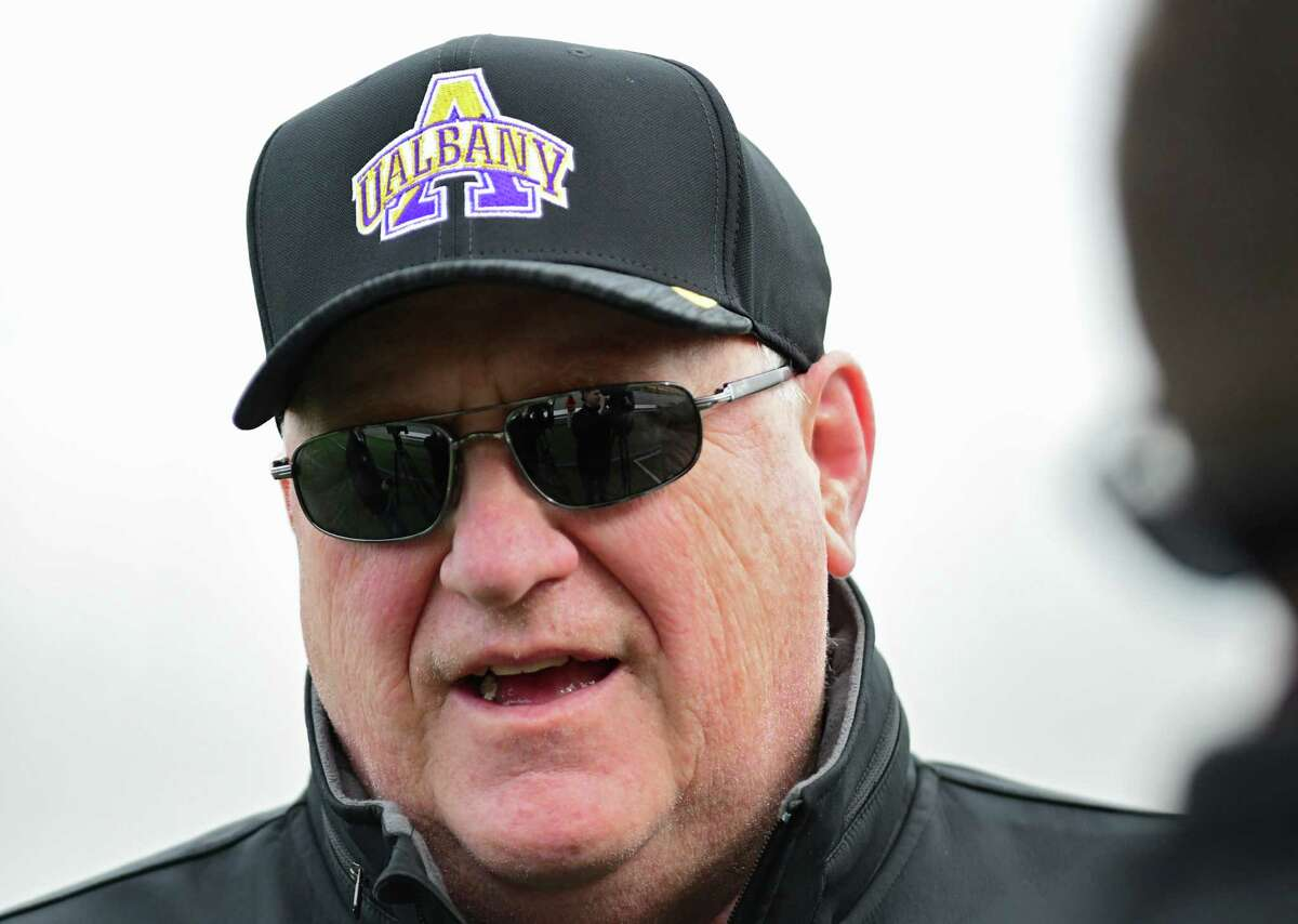 UAlbany coach Greg Gattuso said he doesn't put much stock in being an underdog to North Dakota State.