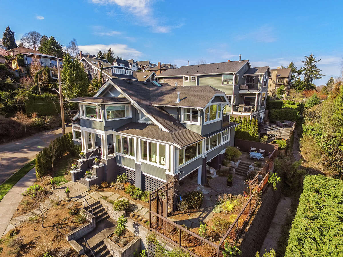 With stunning views and both original and modern charm, this Madrona beauty asks $2.775M.