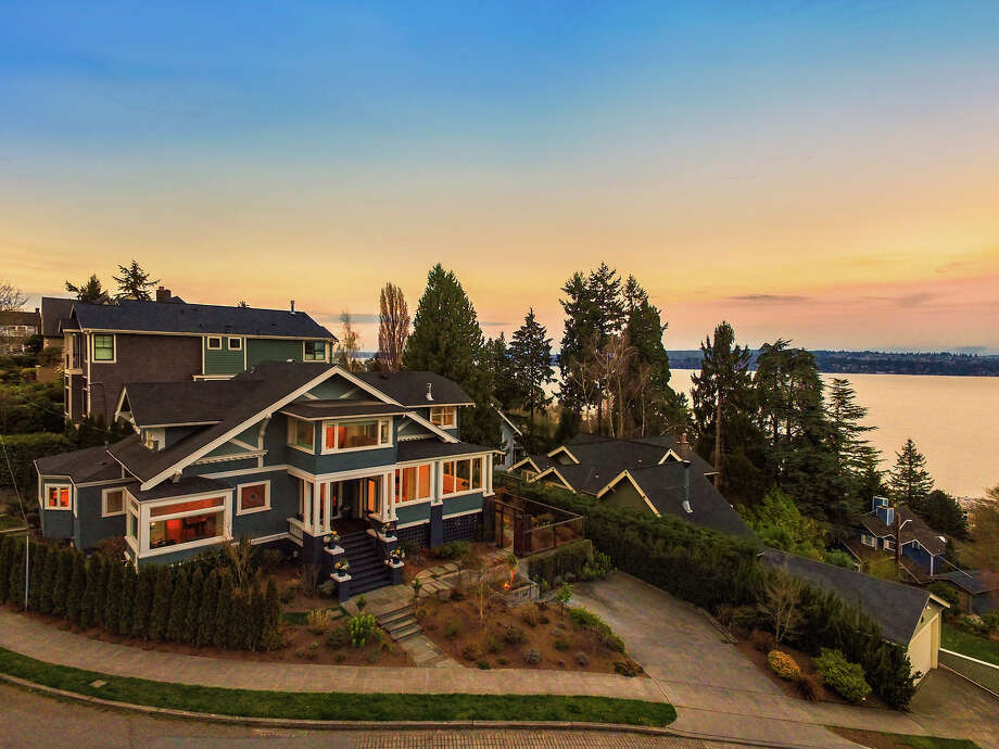 With stunning views and both original and modern charm, this Madrona beauty asks $2.775M. Photo: Michael Cunningham, HD Estates