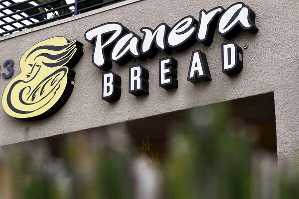 A Panera Bread Co. sign in Torrance, Calif. Margins on the fresh dough sold by St. Louis-based Panera Bread to franchisees of more than 1,700 bakery cafes in North America widened by 0.4 percentage point in the third quarter as wheat prices dropped. Illustrates WHEAT (category f) by Jeff Wilson (c) 2013, Bloomberg News. Moved: Tuesday, Dec. 10, 2013 (MUST CREDIT: Bloomberg News photo by Patrick T. Fallon). A Panera Bread Co. sign in Torrance, Calif. Margins on the fresh dough sold by St. Louis-based Panera Bread to franchisees of more than 1,700 bakery cafes in North America widened by 0.4 percentage point in the third quarter as wheat prices dropped. Illustrates WHEAT (category f) by Jeff Wilson (c) 2013, Bloomberg News. Moved: Tuesday, Dec. 10, 2013 (MUST CREDIT: Bloomberg News photo by Patrick T. Fallon).