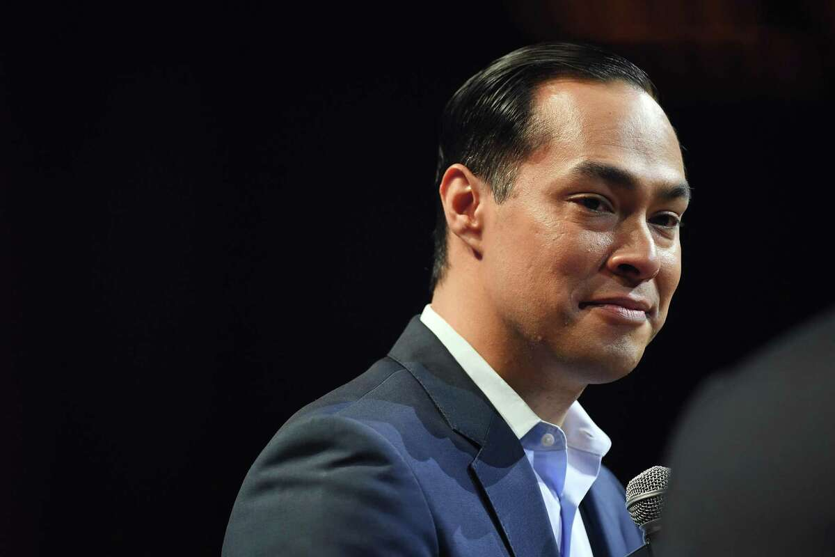 Julian Castro, a former San Antonio mayor and HUD secretary, appears at Austin City Limits Live during South by Southwest on March 10, 2019, in Austin, Texas.