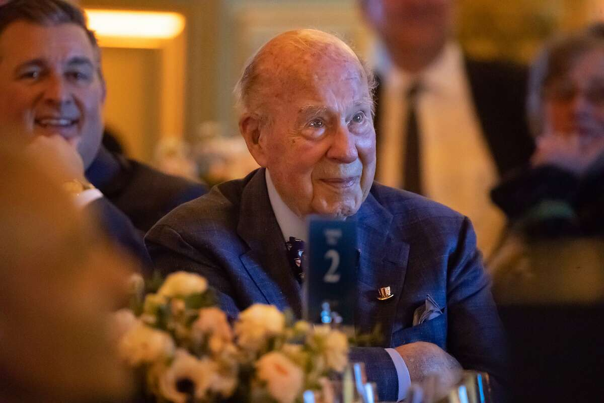 George Shultz, former U.S. secretary of state, was praised for his service in government and academia.