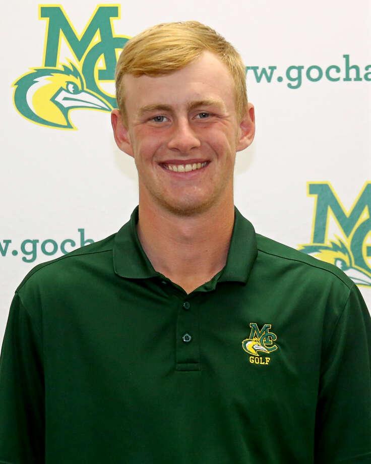 Midland College golfer Callum Bruce Photo: Forrest Allen,  MC Athletics