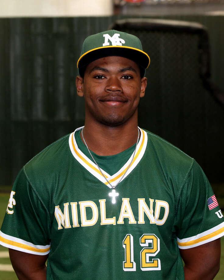 Midland College baseball player Jordan Billups Photo: Forrest Allen,  MC Athletics