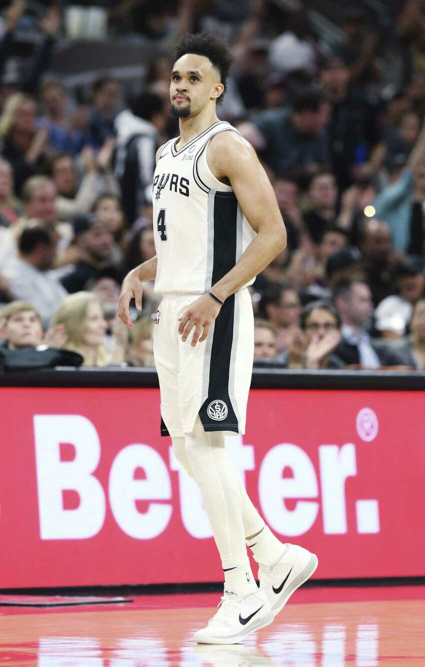Derrick White, 25, is a 6-foot-4-inch, 190 pound point guard for the San Antonio Spurs. He played three years of college basketball in Division II for the Colorado-Colorado Springs Mountain Lions before transferring to the Division I Colorado Buffaloes for his final season. His salary is $1.9 million, according to ESPN.com.
