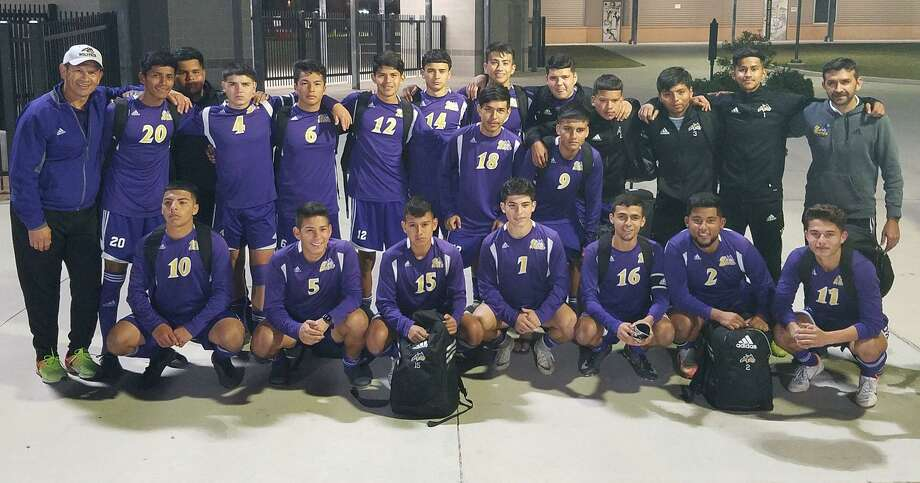 LBJ advanced to the regional quarterfinals of the state soccer playoffs as it defeated Brownsville Rivera 3-1 Tuesday in San Antonio. Photo: Courtesy Of LBJ Athletics