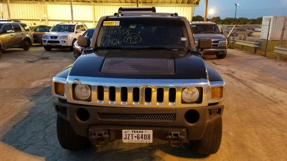 SAPD auctioning off 17 cars, including Cadillac, Hummer and