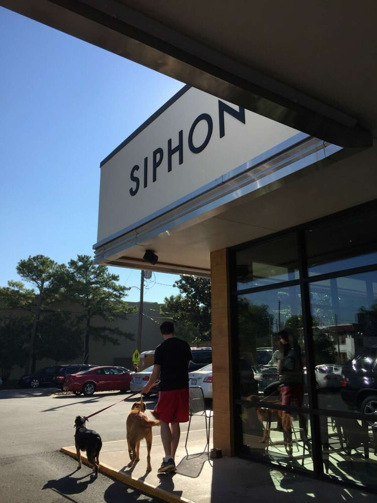 9 A.M.Start the day off right with some coffee and breakfast on the patio atSiphon Coffeeoff Alabama Street.Breakfast items are served until 5 p.m.if you and the pooch want to sleep in a little.Photo courtesy Sumeer T/Yelp