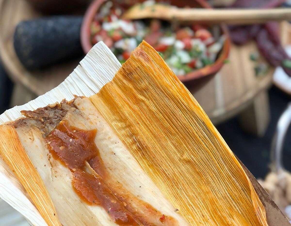 Upcoming Oakland restaurant La Guerrera's Kitchen specializes in tamales.