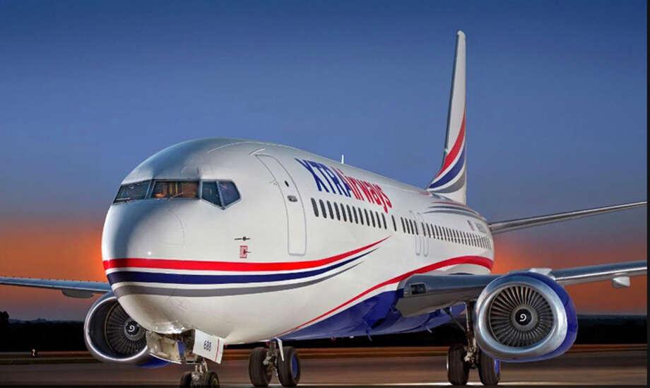 An XTRA Airways 737-400. Photo: XTRA Airways