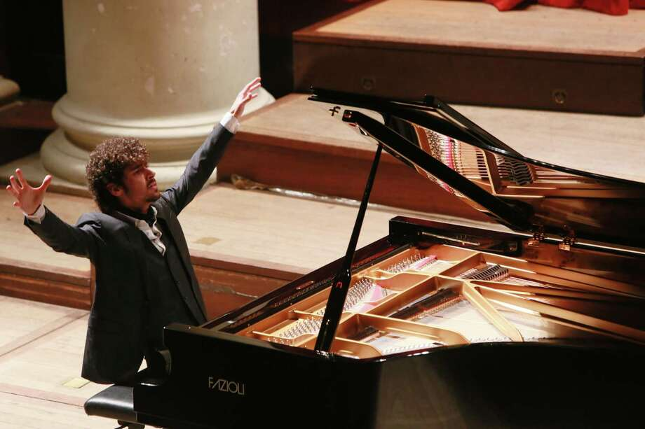 """Italian pianist Federico Colli will perform with the Stamford Symphony for its """"Russian Passion,"""" a program of Tchaikovsky and Rachmaninoff, on April 13-14 at Stamford's Palace Theatre. Photo: Amy T. Zielinski / Redferns / 2016 Amy T. Zielinski"""