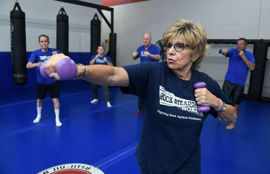 Boxing program fights back against Parkinson's disease