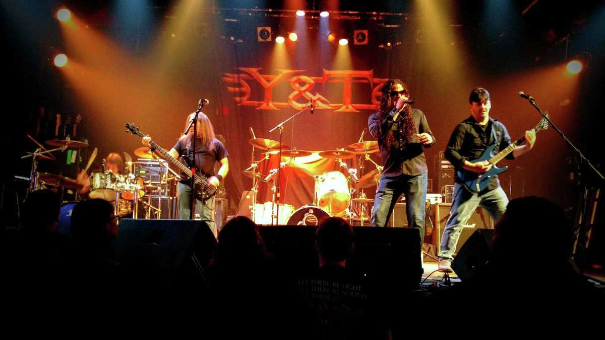 The band Untaymed features, from left, drummer Mike Smith, bass player Scotty Talmon, singer Christopher Jacobson and guitarist Mike Bushey. (Provided photo.)