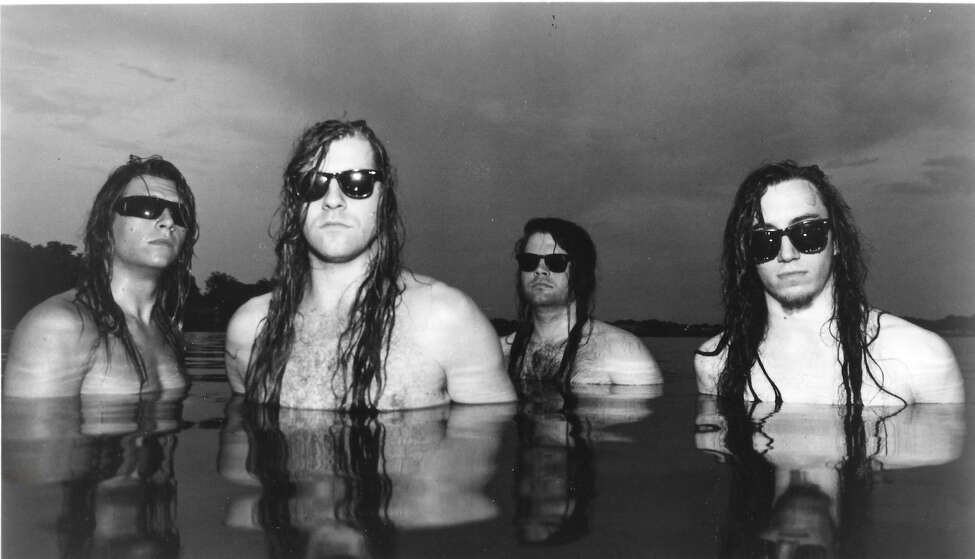 A promotional photo of the band Bone Box circa 1995. (Courtesy Vegas Nacy.)