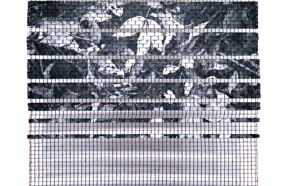 Hiroko Ote, Kotonaha II series, 2018. Paper yarn, Japanese Washi paper (detail). Photo Wm Jaeger