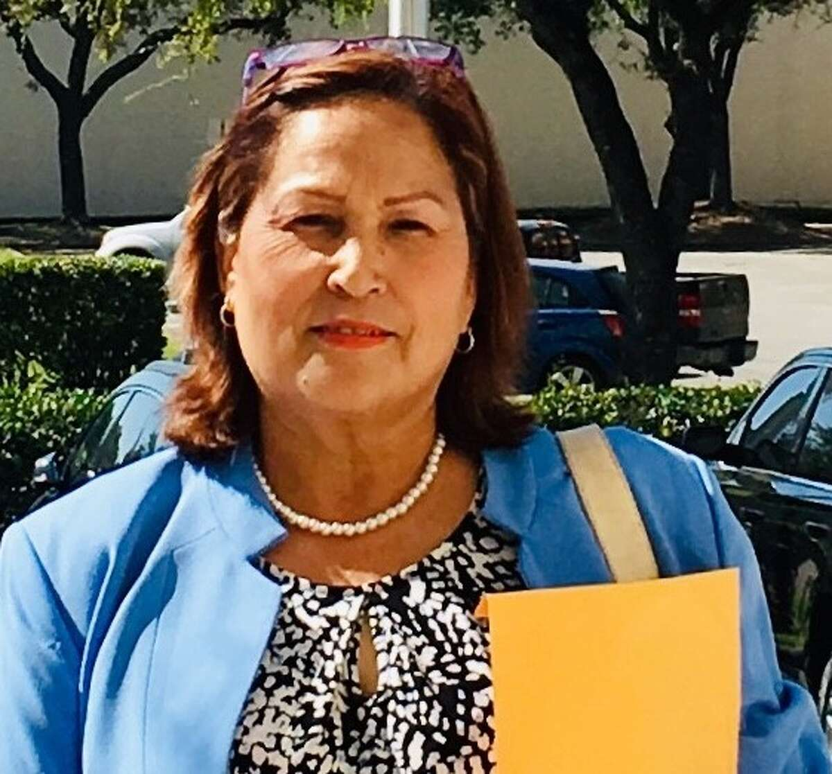 Blanca Sanchez is one of the three candidates in the Pasadena City Council District B race.