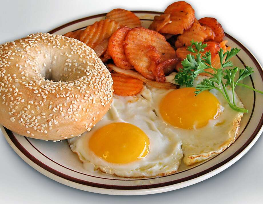 Breakfast plate at New York Deli & Coffee. Photo: Courtesy