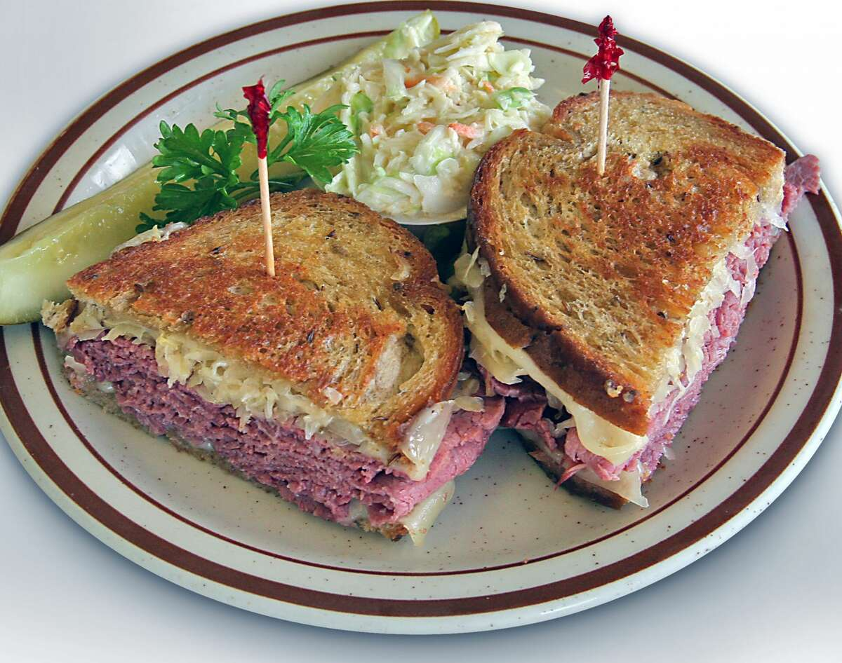 Ruben sandwich at New York Deli & Coffee.