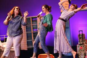 "Performances of Voorheesville High School's production of ""Mamma Mia!"""