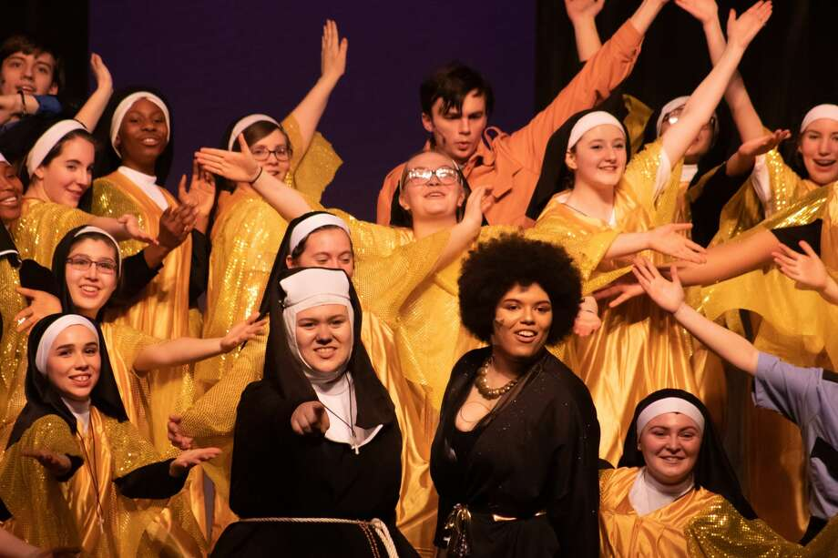 "Performances of the Schenectady High School production of ""Sister Act."" Photo: Sam Goldstein"